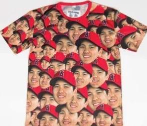 大谷翔平Tシャツ